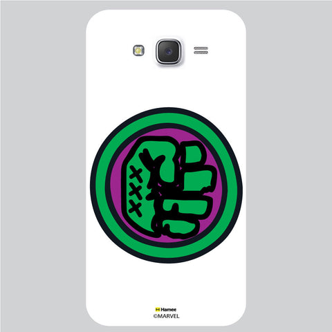 Hulk Fist Bedge1 White Samsung Galaxy J5 Case Cover