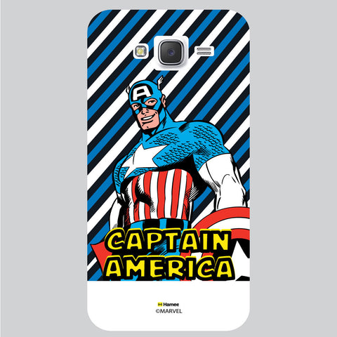 Captain America 7 White Samsung Galaxy J5 Case Cover