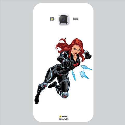 Black Widow White Samsung Galaxy J5 Case Cover