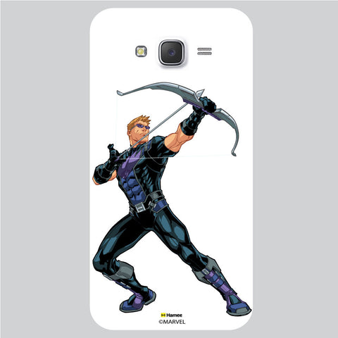 Hawkeye Action1 White Samsung Galaxy J5 Case Cover