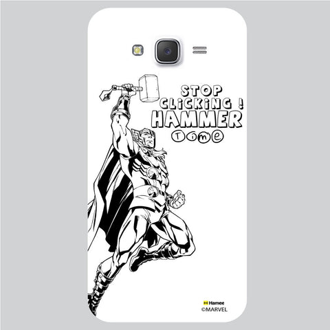 Thor Reaction1 White Samsung Galaxy J5 Case Cover