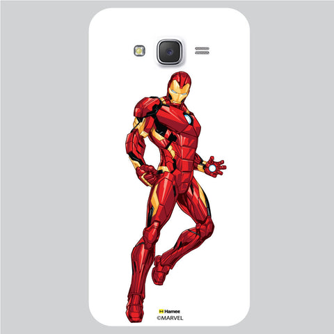 Iron Man 4 White Samsung Galaxy J5 Case Cover