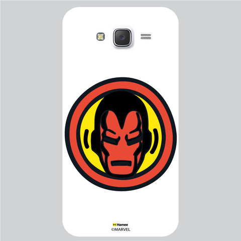 Iron Man Bedge1 White Samsung Galaxy J5 Case Cover