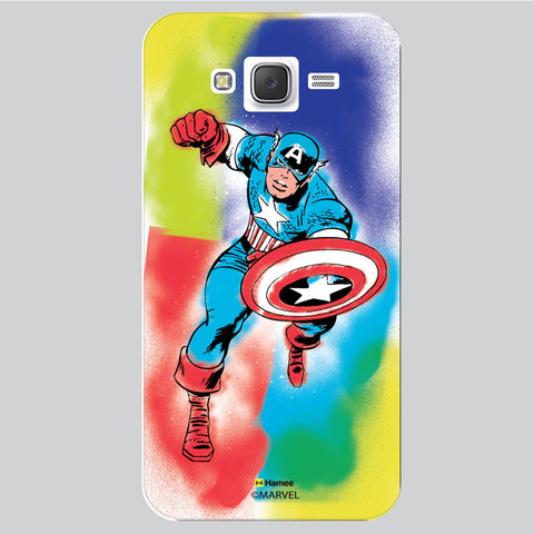 Captain America 1 White Samsung Galaxy J5 Case Cover
