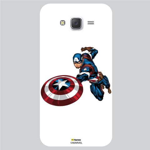 Captain America 5 White Samsung Galaxy J5 Case Cover