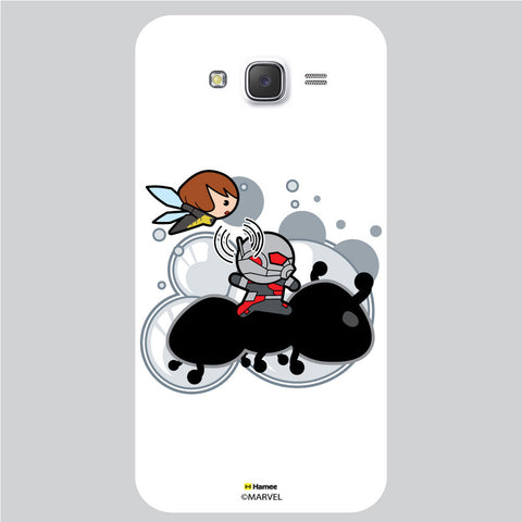 Cute Ant Man 1 White Samsung Galaxy J5 Case Cover