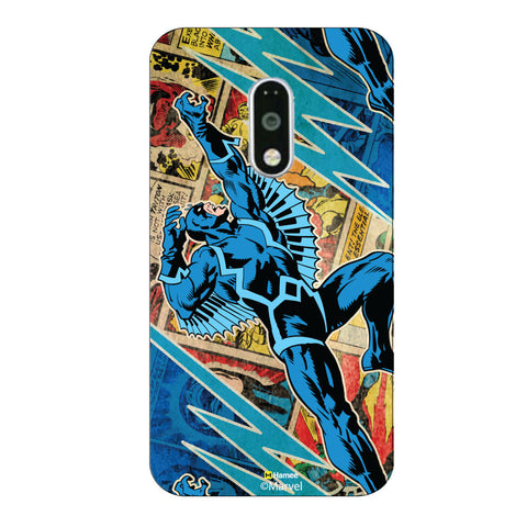 Black Bolt Comic Case Moto G4 Plus/G4 Case Cover