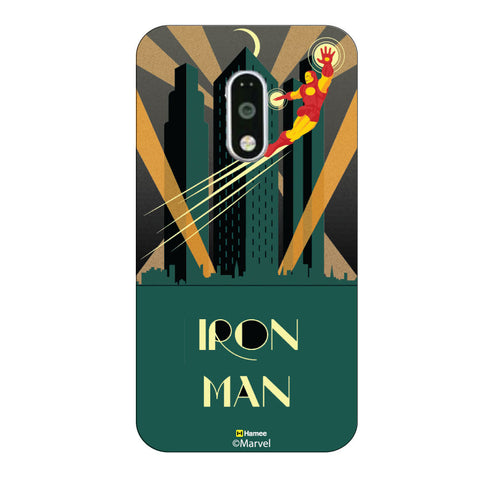 Iron Man Skyline Moto G4 Plus/G4 Case Cover