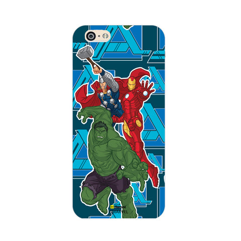 Iron Man Hulk Thor  Oppo F1 Case Cover
