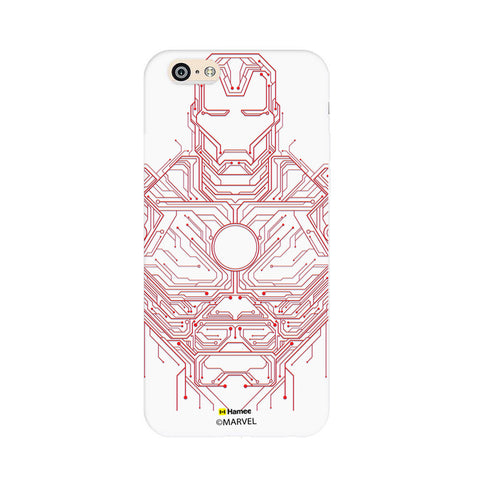 Iron Man Circuit  Oppo F1 Case Cover