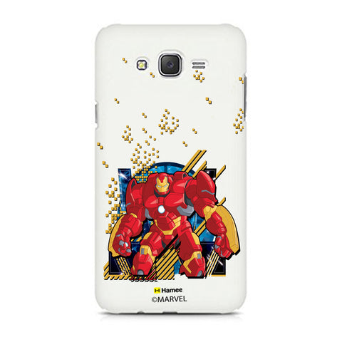 Hulk Buster Pixels  Samsung Galaxy J5 Case Cover