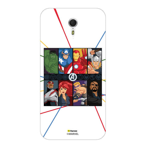 Avengers Faces  Lenovo ZUK Z1 Case Cover