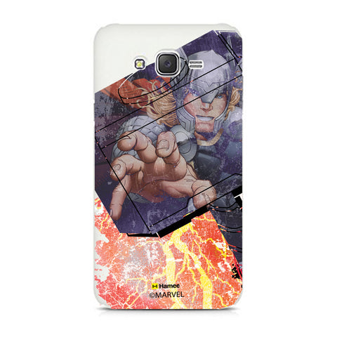 Thor In Hammer  Samsung Galaxy J7 Case Cover