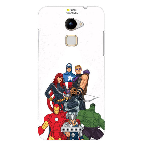 Avengers Group Bottom  Coolpad Note 3 Lite Case Cover