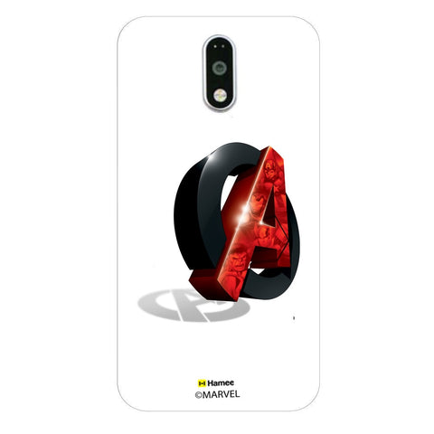 Avengers Logo Side  Moto G4 Plus Case Cover