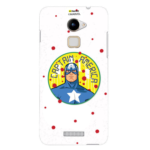 Captain America Paint Drops  Coolpad Note 3 Case Cover