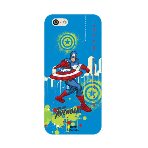 Captain America Full Splash  iPhone 6 Plus / 6S Plus Case Cover