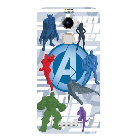 Avengers With Logo Silhouette  Coolpad Note 3 Lite Case Cover