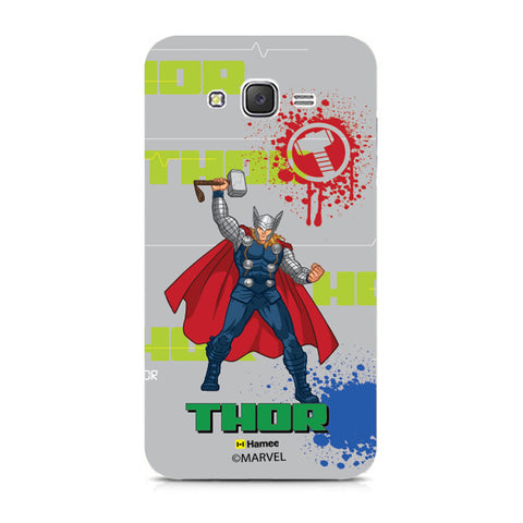 Thor Gray Splash  Samsung Galaxy J7 Case Cover