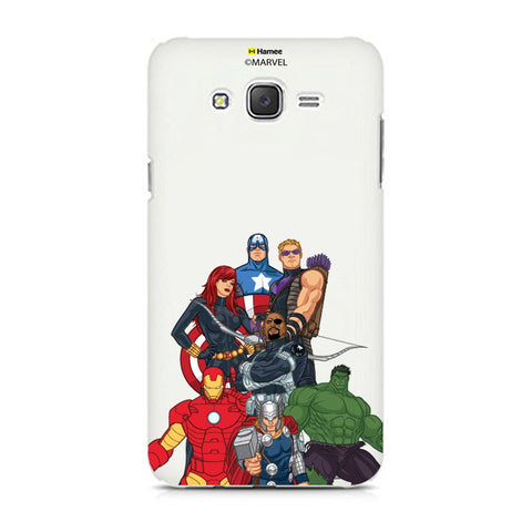 Avengers Group Bottom  Samsung Galaxy J7 Case Cover