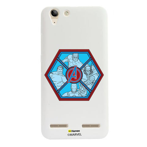 Avengers Hexagon  Lenovo A6000 Case Cover