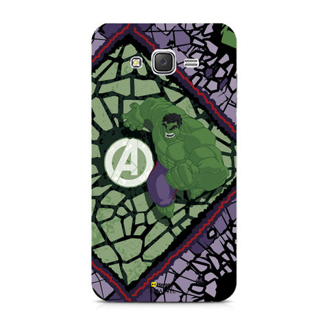 Hulk Green  Samsung Galaxy J7 Case Cover