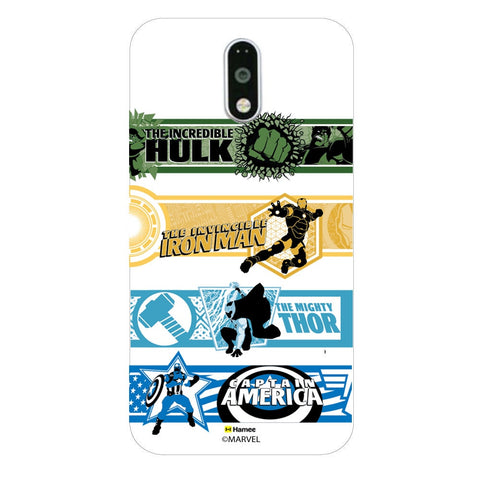 Avengers Border  Lenovo K4 Note Case Cover