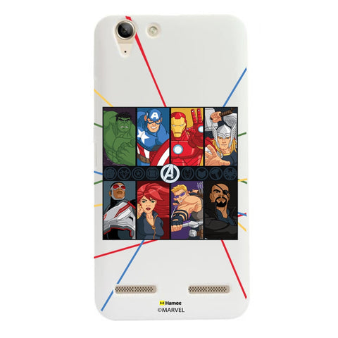 Avengers Faces  Lenovo A6000 Case Cover