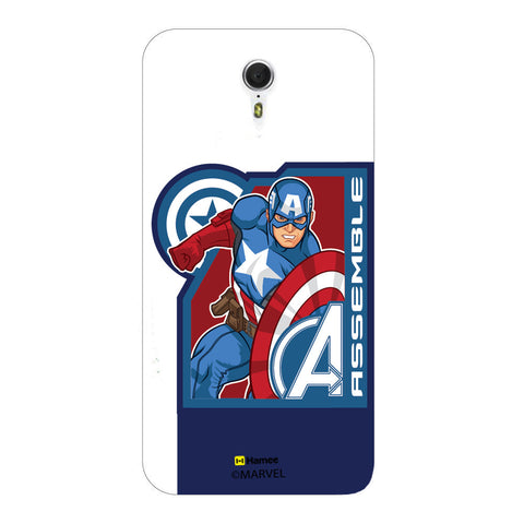 Captain America Corner Blue  Lenovo ZUK Z1 Case Cover