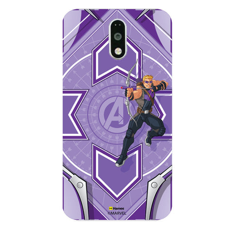 Hawk Eye Purple  Moto G4 Plus Case Cover