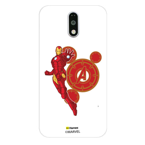 Iron Man Red Circles  Moto G4 Plus Case Cover