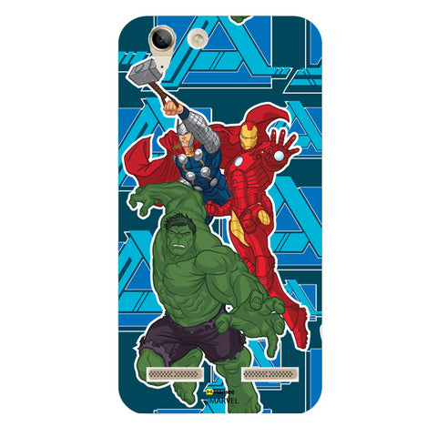 Iron Man Hulk Thor  Lenovo A6000 Case Cover