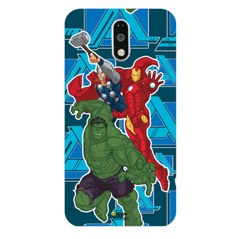 Iron Man Hulk Thor  Moto G4 Plus Case Cover