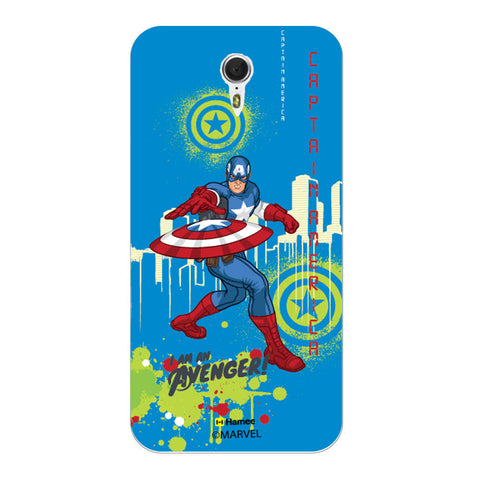 Captain America Full Splash  Lenovo ZUK Z1 Case Cover