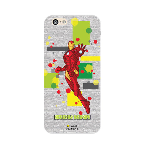 Iron Man Splash  Oppo F1 Case Cover
