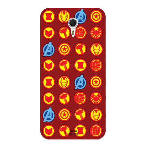 Avengers Icons Red  Oneplus 3 Case Cover