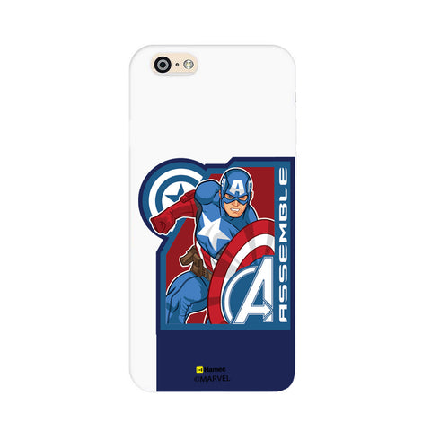 Captain America Corner Blue  iPhone 6 Plus / 6S Plus Case Cover