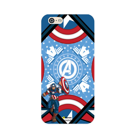 Captain America Blue  OnePlus X Case Cover