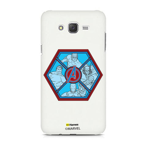 Avengers Hexagon  Samsung Galaxy J7 Case Cover