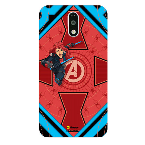 Black Widow Red  Moto G4 Plus Case Cover