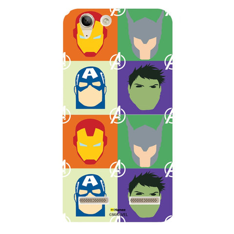 Avengers Group Paint  Lenovo A6000 Case Cover