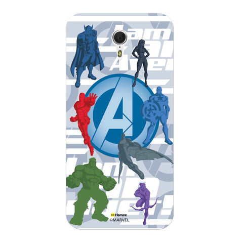 Avengers With Logo Silhouette  Oneplus 3 Case Cover