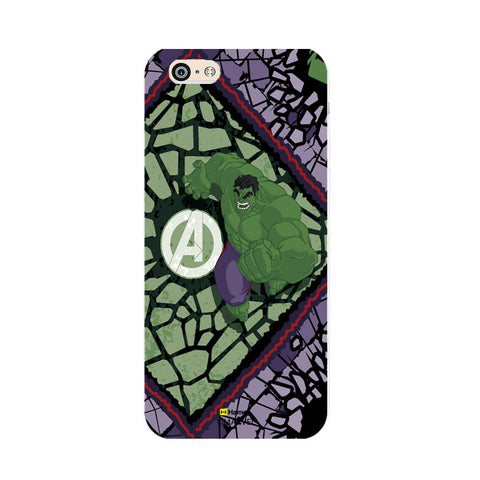 Hulk Green  Oppo F1 Case Cover