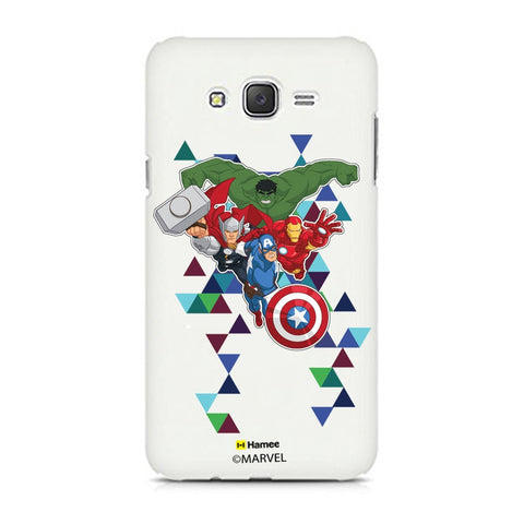 Avengers Triangles  Samsung Galaxy J7 Case Cover