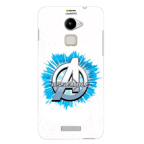 Avengers Logo Blue Burst  Coolpad Note 3 Lite Case Cover