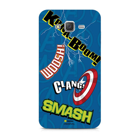 Avengers Noises  Samsung Galaxy J7 Case Cover