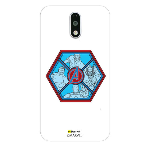 Avengers Hexagon  Moto G4 Plus Case Cover