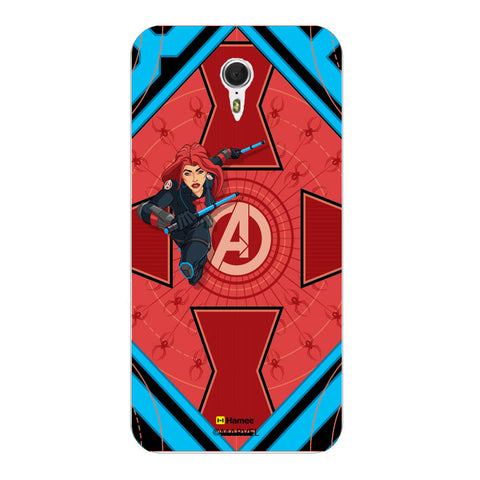 Black Widow Red  Lenovo ZUK Z1 Case Cover
