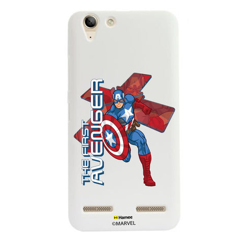 Captain America First  Lenovo A6000 Case Cover