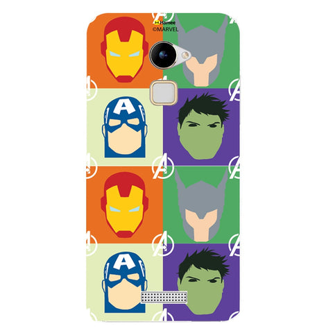 Avengers Group Paint  Coolpad Note 3 Lite Case Cover